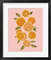 Framed Spring Citrus II
