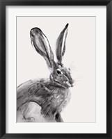 Framed Wild Hare II
