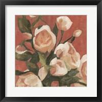 Framed Rose Tangle I