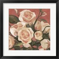 Framed Rose Tangle II