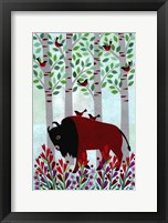 Framed Forest Creatures VI