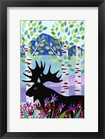 Framed Forest Creatures XII