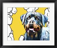 Framed Pop Dog III