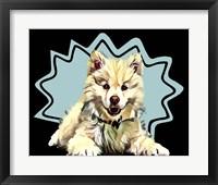 Framed Pop Dog IV