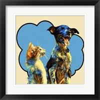 Framed Pop Dog IX