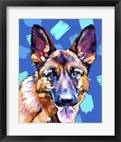 Framed Pop Dog XI