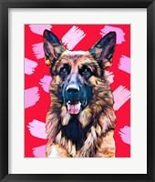 Framed Pop Dog XIV
