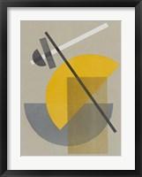 Framed Homage to Bauhaus IV