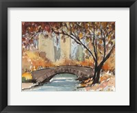 Framed Autumn in New York - Study I
