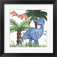 Framed Dino Buddies I