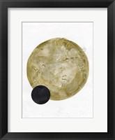 Framed Scandinavian Moon I