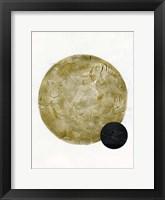 Framed Scandinavian Moon II
