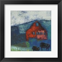 Framed Bremen Bluff Barn