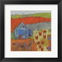 Framed Dillwyn Barn