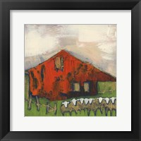Framed Rice Barn