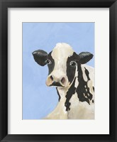 Framed Cow-don Bleu III