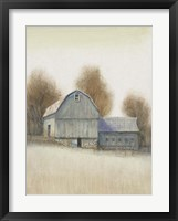 Framed Barn Side I