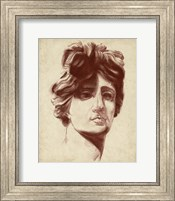 Framed Statuesque Study I