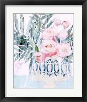 Framed Bleached Bouquet II