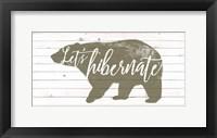 Framed Lodge Hibernation I