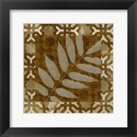 Framed Shades of Brown I