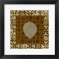 Framed Shades of Brown III
