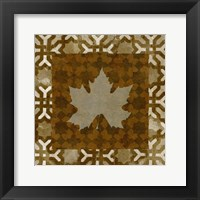 Framed Shades of Brown IV