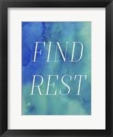Framed Finding Rest II
