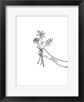 Framed Bloom & Grow II