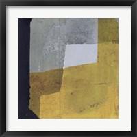 Framed Black & Yellow III