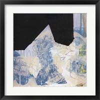 Framed Blue & Black II