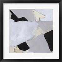 Framed Grey Landscape V