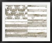 Framed Americana Flag