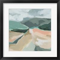 Framed Marble Valley I