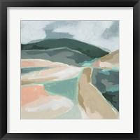 Framed Marble Valley II