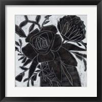 Framed Chalkboard Garden II