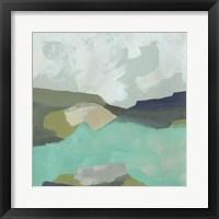 Framed Coastal Crest I