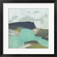 Framed Coastal Crest II