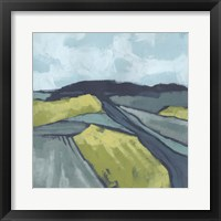 Framed Marshlight Fields I