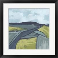 Framed Marshlight Fields II