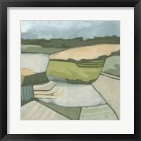 Framed Field & Valley I
