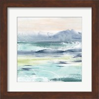 Framed Beach Tides I