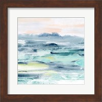 Framed Beach Tides II