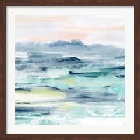 Framed Beach Tides II