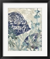 Framed Seafloor Fresco II