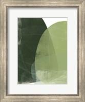 Framed Verdant Arc I