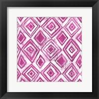 Framed Eclectic Textile I