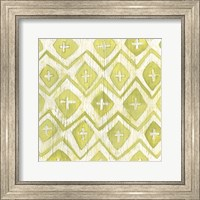 Framed Eclectic Textile II
