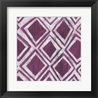 Framed Eclectic Textile VI