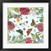 Framed Circular Butterfly I